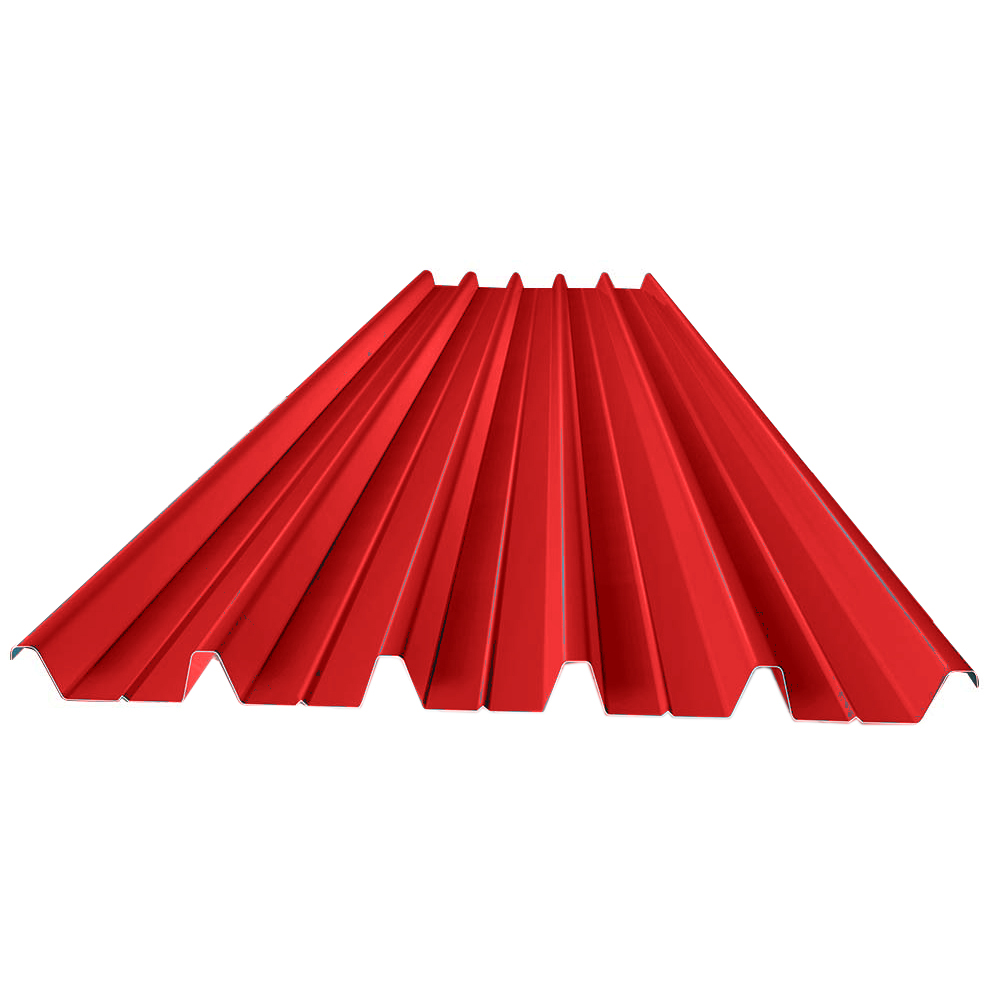 Color Strong trapezoid Roofing Steel Sheet Plate Insulation Sheet