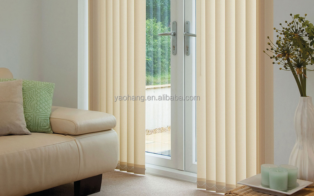 convenient motorised electric vertical curtain