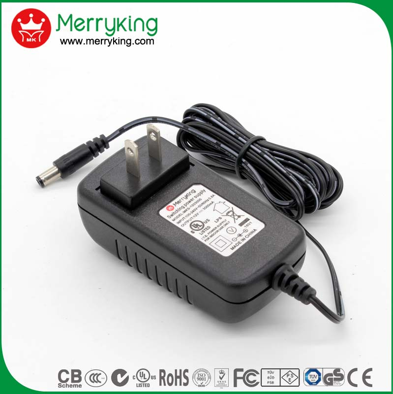 29v 1a 2a dc adapter rj45 wifi power supply adapter with Erp V CoC VI DOE VI