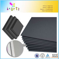 Black foam board with one side adhesive