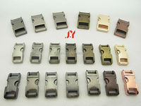 color metal buckle/zinc alloy dog collar buckles/side release buckles