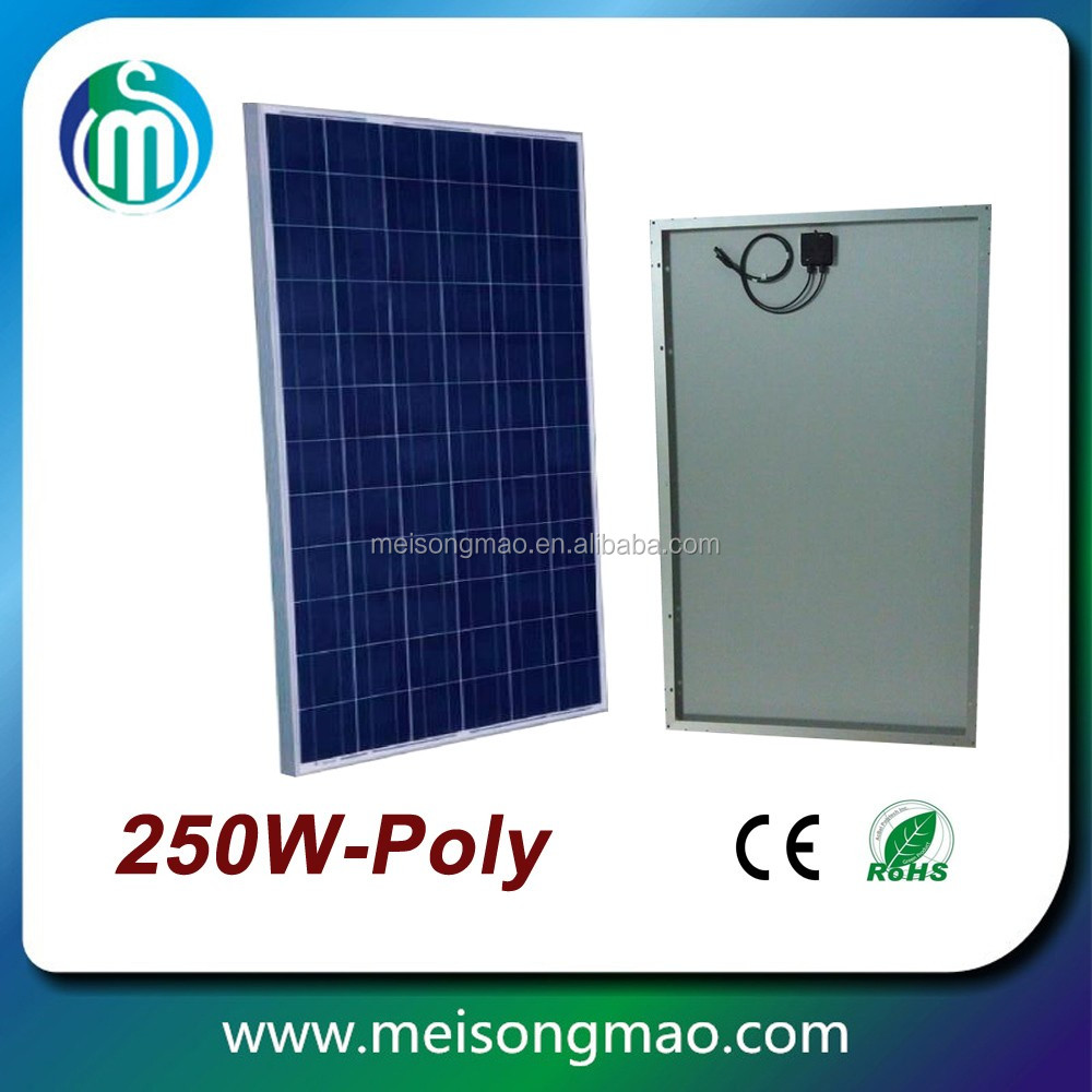 Wholesale price solar panel 100W 200W 300W poly for india market