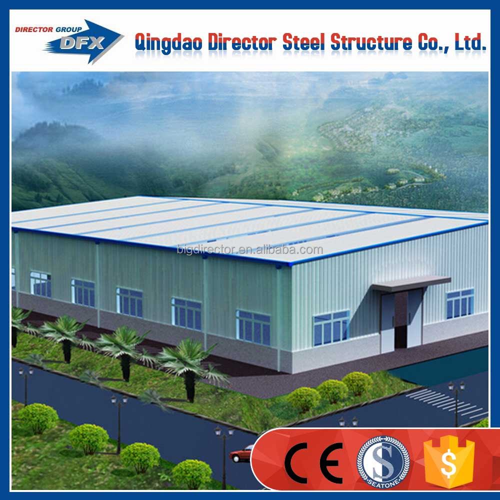Chinese prefab steel warehouse shed