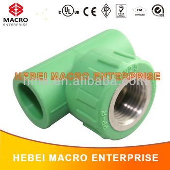 All Types Of Ppr Pipe Fittings Tee Manufacturer Buy All