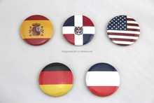 tourist make country flag fridge magnet souvenir