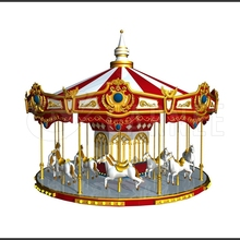 Deluxe playground kids carnival equipment roundabouts with reasonable price