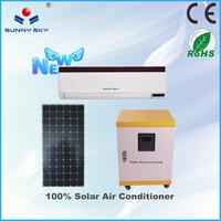 DC 24V 12000btu air conditioner solar powered window air conditioner with inverter