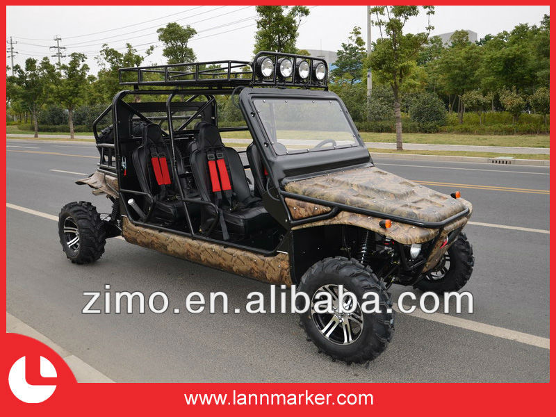 Off road four seat sand buggy