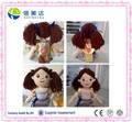 Handmade Plush Cute Girl with backpack Doll