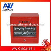 High Quality Fire Alarm Button 24V Emergency Glass Break Manual Call Point