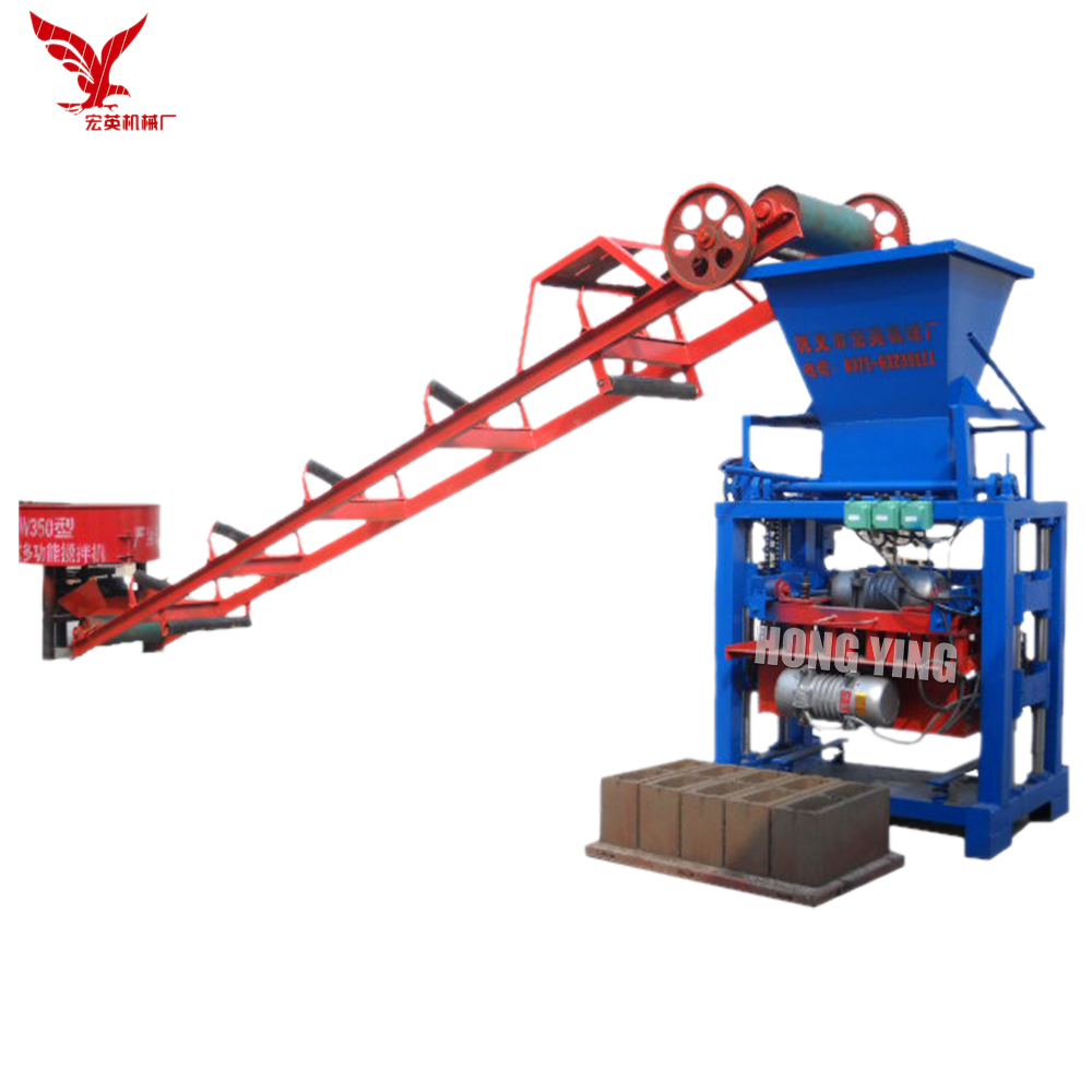 Small scale concrete block production line widely used concrete block making machine for sale in USA