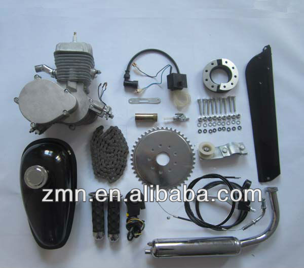 80cc motor gas bike engine kit/50cc scooter 2 stroke engine