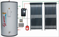 Split Pressurized Heat Pump Solar Energy Water Heater System/ CE /EN12975/ KEYMARK certify
