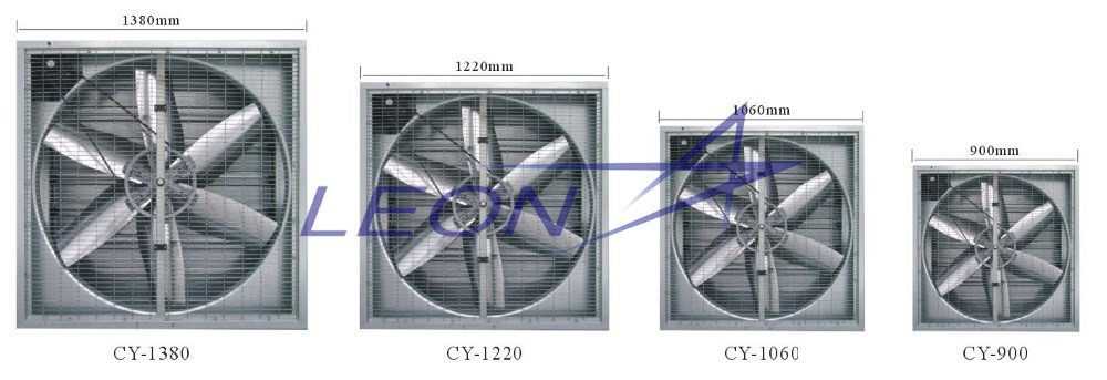 Professional ventilation fan/ exhaust fan/industrial fan with CE certificate
