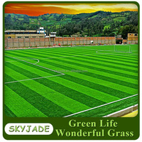 Factory supply Football Artificial Grass Synthetic Lawn Soccer Turf for football pitch