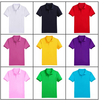2016 cheap wholesale Custom Plain color Mens Polo Shirts 100% Cotton