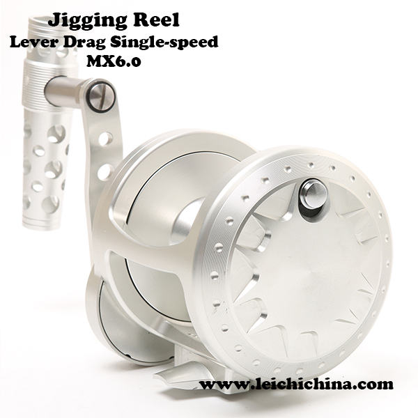 CNC machine cut Aluminum slow jigging reel