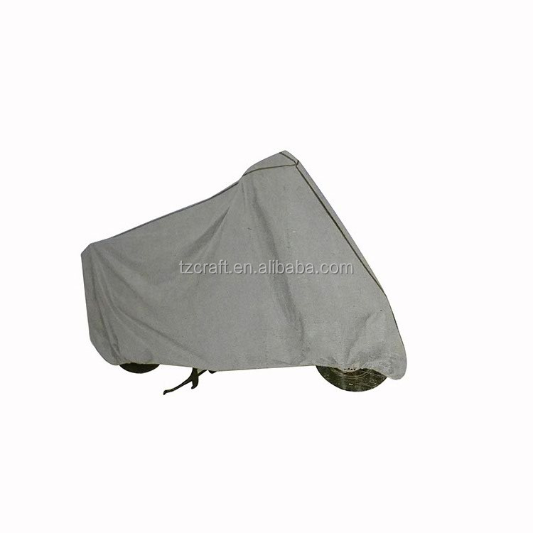 China manufacturer EVA material motorcycle drawstring dust cover