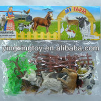 Hot Sell Rubber Plastic Farm Animals