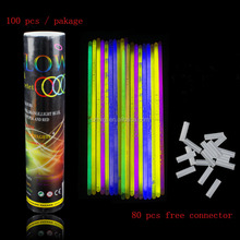 Glow Stick Bracelets Any party 100pcs one package glowsticks for night club