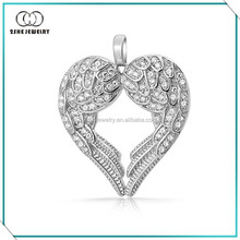 High Quality Vogue best friend heart pendant