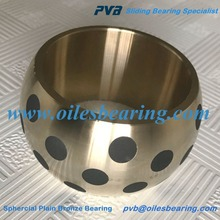 Flange Copper Drill Bushing,High Performance insert graphite brass bushing,Graphite plugged Oiles Flange Bearing