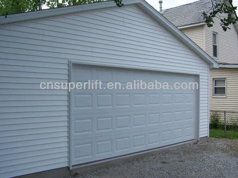Wholesaler Garage Gate Panel With Window Inserts