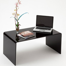 Modern acrylic coffe Table tea table, lucite furniture long end table, plexiglass black console table