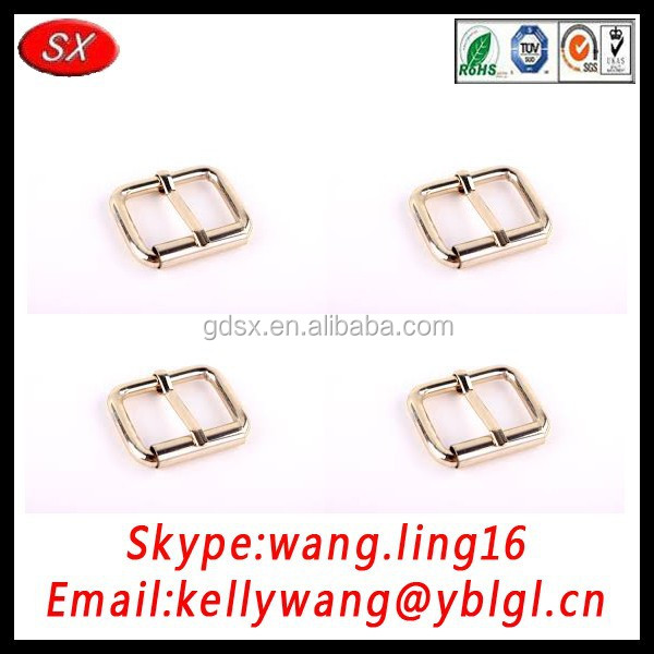 custom bags and suitcases accessories metal buckle for pin / bag/ shoe, bulk buckles made in China