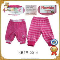Hot Sale Wholesale Baby Clothing Stocklot Baby Girls Pant Inventory