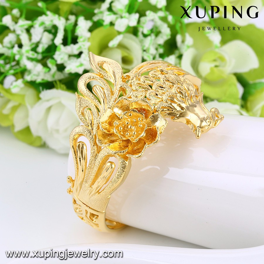 xuping costume jewelry high quality 24k gold plated wedding jewelry set for women