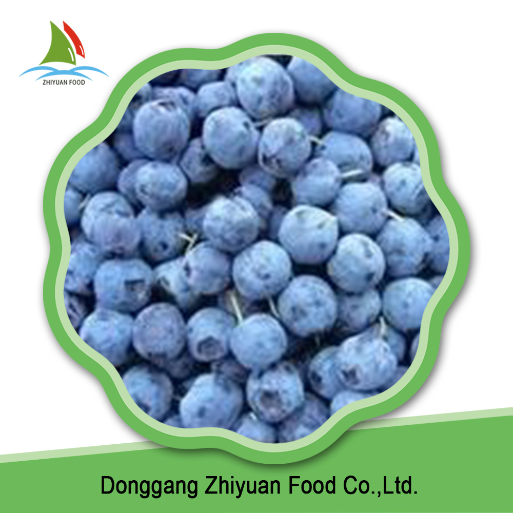 2016 new season sweet bulk blueberry fruit quick frozen blueberry