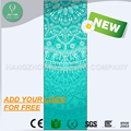 Natural Rubber Yogamat Custom Printed eco one yoga mat