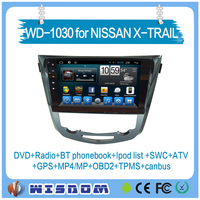 2016 New 2 din car multimedia system for Nissan Xtrail/QASHQAI car radio 2-din android gps reversing camera 2 DIN Radio /DVD/CD