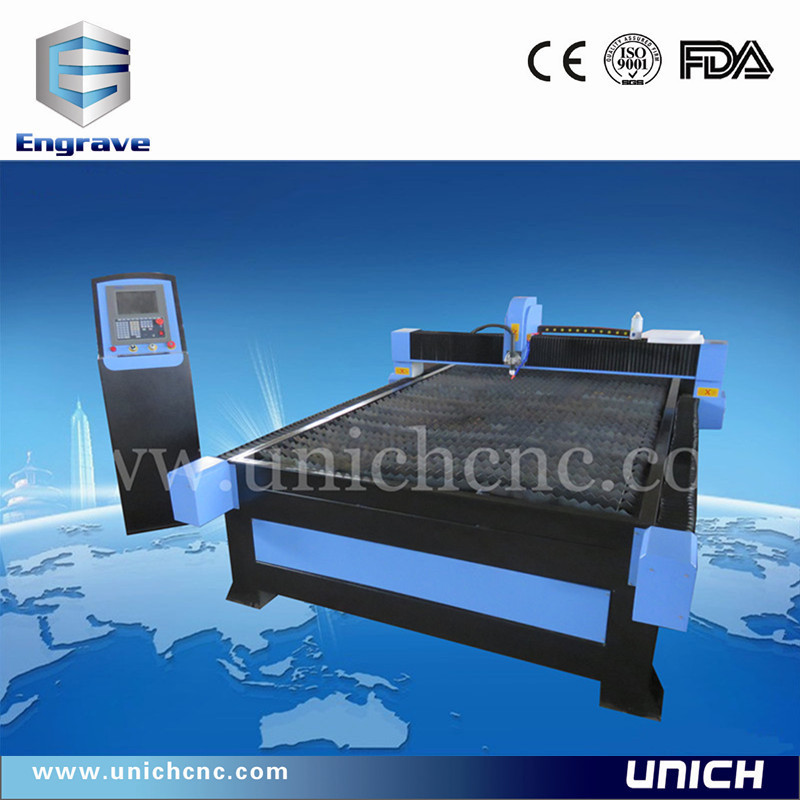 Competitive price 1500*3000mm cnc plasma cutting Iron&aluminum&metal&stainless steel machine/cnc plasma tube cutting machine