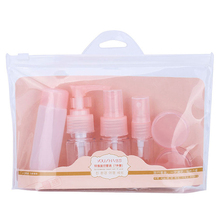 Travel cosmetic packaging bottle set