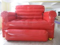 giant red Inflatable Sofa for promotion