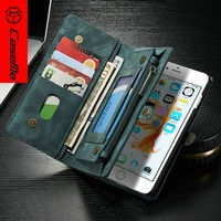 For iPhone 6 mobile phone Leather Case, Wallet Stand Flip With photo and card slot For iPhone 6 case