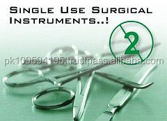 single use surgical instruments Disposable surgical instruments manufacture Sialkot pakistan / Surgical Instruments