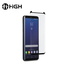 High transparency anti scratch full cover 0.33mm 9H tempered glass screen film for samsung s8 plus