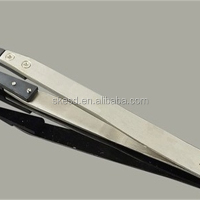 Antistatic ESD Stainless Steel Tweezers Computer