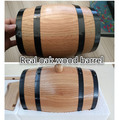 Cheap polished wooden decorative oak barrels wholesale