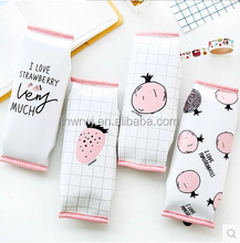Kawaii Cute Pu Leather Pencil Case Pomegranate School Pen Bag Strawberry Pouch Stationery Office School Supplies
