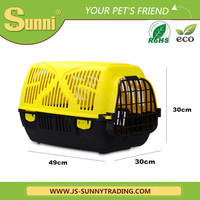 Fashion plastic dog carrier bag