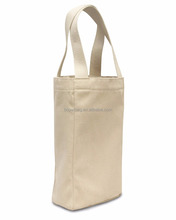 Alibaba Sack Pouch 100% Cotton Blank Canvas Wine Tote Bag Wholesale