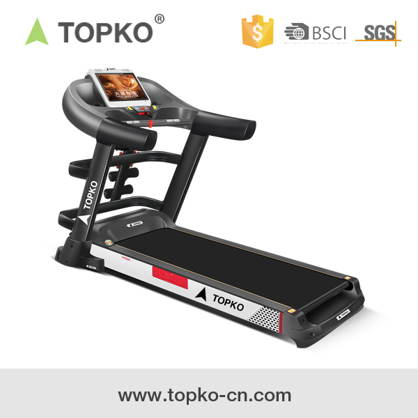 TOPKO home electric treadmill multifunctional speed fit home foldable treadmill