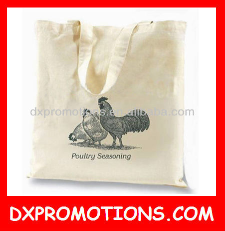 OEM scream color cotton tote bag/canvas cotton tote bag