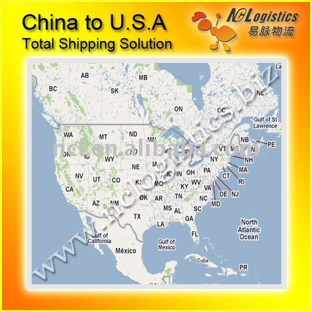 Logistics services from china to fremont california