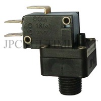 Type ZQ Snap action contact miniature pressure switch. Rating up to 25A
