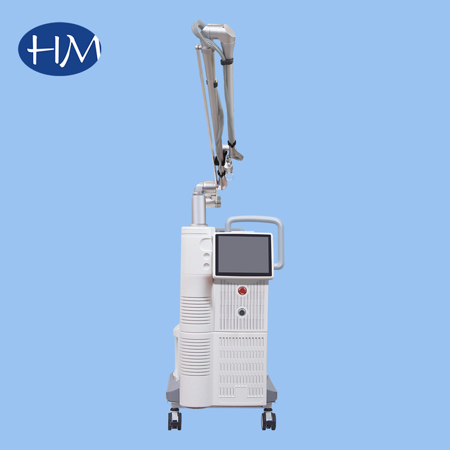 Co2 fractional Laser freckles pigment age spots removal infrared face lift microdermabrasion beauty machine
